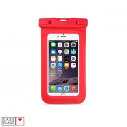 Водонепроницаемый чехол для телефона красный