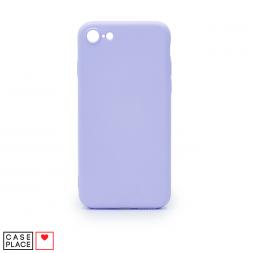 Силиконовый сиреневый чехол Soft Touch для iPhone 7/8/SE 2020