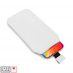 Чехол-карман для телефона до 6,7 белый