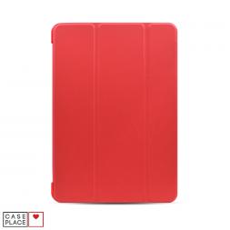 Чехол-книжка для планшета iPad 2019 (10.2)/iPad Pro 10.5 (2017)/iPad Air 3 (2019) красный с силиконовой основой