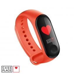 Ремешок для часов Xiaomi Mi Band 3/Mi Band 4 оранжевый