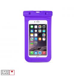 Водонепроницаемый чехол для телефона фиолетовый