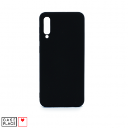 Силиконовый черный чехол Soft Touch для Samsung Galaxy A50/A30s