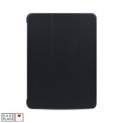 Чехол-книжка для планшета iPad Air 4 (2020) черный с силиконовой основой