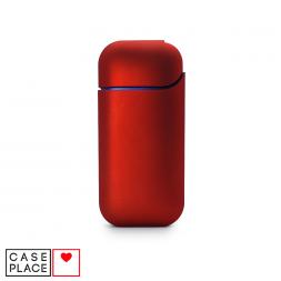 Чехол для IQOS 2.4 / 2.4 Plus из пластика красный