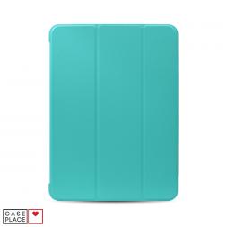 Чехол-книжка для планшета iPad Air 4 (2020) голубой с силиконовой основой
