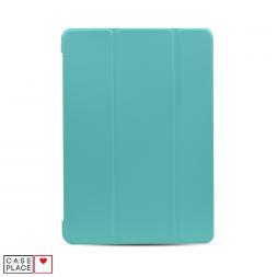 Чехол-книжка для планшета iPad 2019 (10.2)/iPad Pro 10.5 (2017)/iPad Air 3 (2019) голубой с силиконовой основой