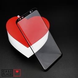Защитное 3D стекло для Samsung Galaxy S8 черное