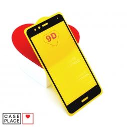 Защитное 3D стекло для Huawei Honor 8 черное
