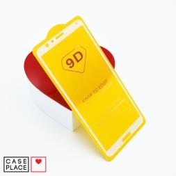 Защитное 3D стекло для Huawei Honor 7X белое