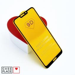Защитное 3D стекло для Huawei Honor 8C черное