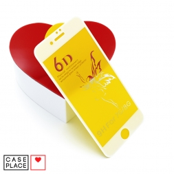 Защитное 3D стекло для iPhone 7/8/SE 2020 белое