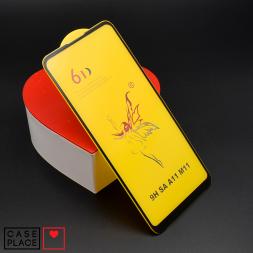 Защитное 3D стекло для Samsung Galaxy A11/M11 черное