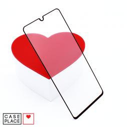 Защитное 3D стекло для Samsung Galaxy A41 черное