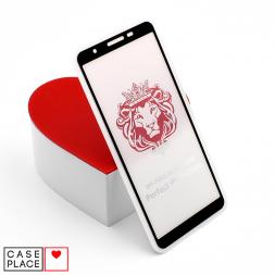 Защитное 3D стекло для Samsung Galaxy A01 Core черное