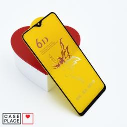Защитное 3D стекло для Samsung Galaxy M20 черное