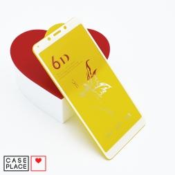 Защитное 3D стекло для Xiaomi Redmi 6/6A белое