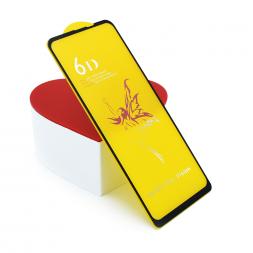 Защитное 3D стекло для Huawei P40 черное