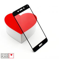 Защитное 3D стекло для Huawei Honor 6C Pro черное