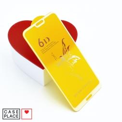 Защитное 3D стекло для Huawei P20 Lite/Nova 3e белое
