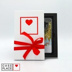Подарочная коробка для чехлов с ложементом