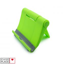 Подставка для телефона на стол зеленая