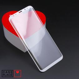 Защитное 3D стекло для Samsung Galaxy S8 Plus белое