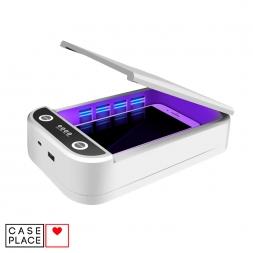 Стерилизатор для телефона KD-168 ультрафиолетовый белый